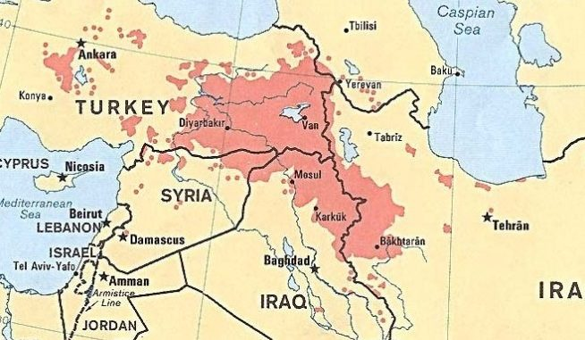 Map Of Kurdistan Kurdistan Independence   A Regional Flashpoint | SOF News